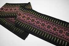 Colorful Tribal Traditional embroidery fabric Handmade  Crafting Supply 31772