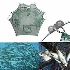 Foldable Crab Fish Crawdad Shrimp Minnow Fishing Bait Trap Cast Net New
