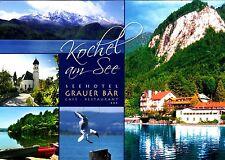 Kochel am See , Seehotel Grauer Bär , Ansichtskarte ; gelaufen