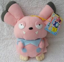 Official Banpresto Pokemon 1999 UFO Snubbull Soft Plush Toy Doll Japan MWMT 9""
