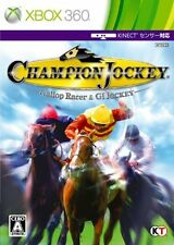 USED Champion Jockey: G1 Jockey & Gallop Racer Japan Import XBOX 360