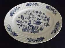 """Royal Wessex England Indian Tree Blue & White 11 3/4"""" Platter"""