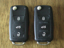 LOT OF 2 Volkswagen OEM Key Fobs USED Condition Keyless Remote Transmitters