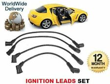FOR MAZDA RX8 1.3 WANKEL 2002-2012 HT IGNITION INTERMOTOR SPARK PLUG LEADS SET