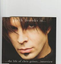 GARTH BROOKS-Chris Gaines interview UK promo cd