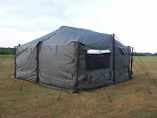 MILITARY MGPTS TENT FLOOR SECTION 1/2 FLOOR FOR A SMALL 18' X 18' Small  NEW