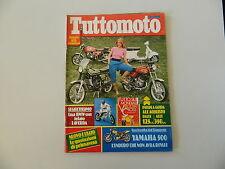 TUTTOMOTO 5/1979 CZ 175 TRAIL/YAMAHA XT 500/PUCH MC/HONDA XL/BENELLI 50 MAGNUM