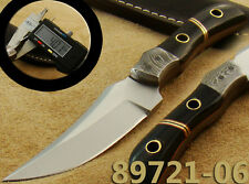 Handmade Couteau de chasse 420-C Steel Lame fixe Camping Hunting Knife 89721-06