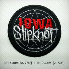 new SLIPKNOT Embroidered Iron on Patch or Sew IOWA Heavy nu metal GUITAR awesome