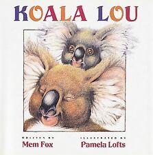 KOALA LOU Hardcover children's picture story book
