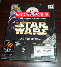 PC CD. Monopoly Star Wars Edition