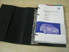 VW Golf Manual Pack Owners Manual Cartera 2003-2008 Inc Gt, R32, Bluemotion