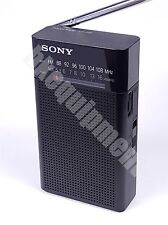 Sony ICF-P26 AM FM Portable Speaker AA Radio Tuner