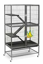 Large Ferret Cage Chinchilla Rabbit Hamster Guinea Pig House Metal Wire Habitat