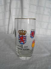 Vintage German Le Grand Duche' de Luxembourg drinking glass
