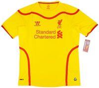 2014/15 Liverpool Away Official Warrior Football Shirt Soccer Jersey Top England
