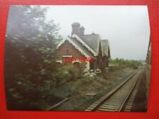 PHOTO  NOTTINGHAM LONG MARSTON RAILWAY STATION 1983