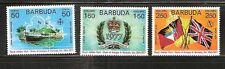 BARBUDA # 302-304 MNH ROYAL VISIT