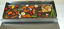 CHAR GRILL ON STAND WITH FULL GRIDDLE FOR SEEKH KEBAB STEAK / NATURAL GAS OR LPG