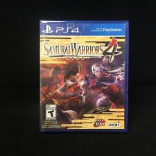 Samurai Warriors 4  (Sony PlayStation 4, 2014) Brand New / Region Free