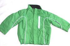 H&M hellgrüne wattierte, warme Jacke 104 kaum getragen sehr praktisch Reflektore