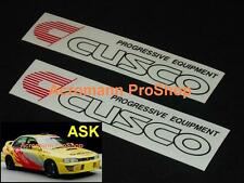 "2x 8.5"" 21.6cm Cusco decal sticker for rx-7-8 s2000 mx-5 integra impreza accord"