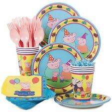 Peppa Pig  Standard Kit Serves 8 - Party Supplies