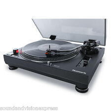 Numark tt250usb dj scratch DIRECT DRIVE giradischi Record Player + USB Piombo + CARRELLO
