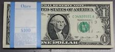 Pack of (100) 2013 Brand New Uncirculated $1 Dollar Bills from PHILADELPHIA C-A