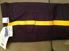 NWT Blauer 8215 - police / security 6 pocket uniform pants w/ gold stripe Sz 36