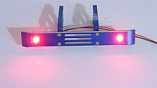 Aluminum Rear Bumper + Red LED Light Fit E / T-Maxx 3.3