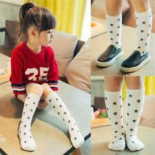 Kids Girls Soft Cotton Socks Knee High Hosiery For Age 0-1 Years 2016 Fashion