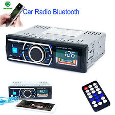 Bluetooth Car Audio Radio Stereo In-dash 1 DIN Player MP3/USB/SD/AUX/FM/iPod WD