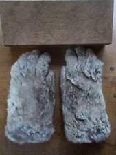 FAVOLOSI Vintage Pelliccia & Guanti di cuoio da FOWNES in Pelle di Serpente effetto SCATOLA ORIGINALE