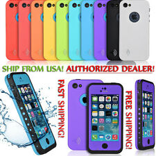 WATERPROOF SHOCKPROOF CASE FOR APPLE IPHONE 5C [FITS LIFEPROOF & OTTERBOX CLIP]