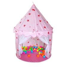 Portable In/Outdoor Pink Fairy Princess Castle Play Tent House Children Kids Toy