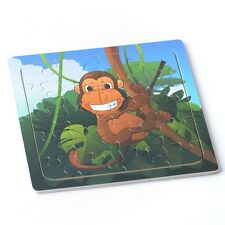 20pcs Cute Monkey Puzzles Jigsaws Toddler Kids Early Learning Toys Educational