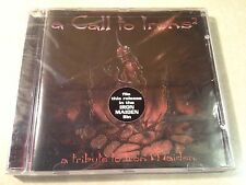 CALL TO IRONS 2 Tribute to IRON MAIDEN  CD • STILL SEALED •  Deceased Abbatoir