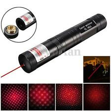 Waterproof 8000M Red Laser Pointer Pen 650nm 5mw Light Beam Star Cap Lazer Pen