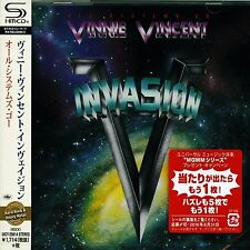 VINNIE VINCENT INVASION - ALL SYSTEMS GO  Japan Jewel Case SHM - CD - UICY-25614