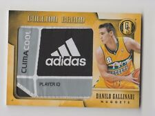 2013/14 GOLD STANDARD DANILO GALLINARI BULLION BRAND LAUNDRY TAG LOGO PATCH 1/2