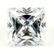 3CT 8mm PRINCESS CUT D Color My Russian Diamond Simulant Lab Created Loose Stone