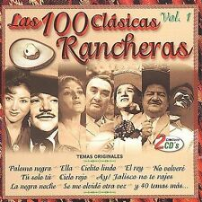 Las 100 Clasicas Rancheras, Vol. 1 by Various Artists (CD, Oct-2001, 2 Discs,...