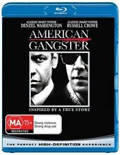 AMERICAN GANGSTER BLURAY EDITION AS NEW