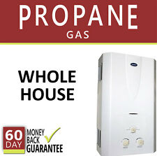 Tankless Hot Water Heater Propane Gas LP 3.1 GPM Marey On-Demand Whole House New