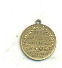 RARE. token.23MM.issued by the bible bookshop at 42 Ann Street, Belfast.R.84