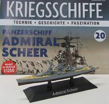 Panzerschiff Admiral Scheer ( 1933 ) 1:1250 / ca.15 cm