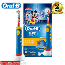 Oral-B Stages Power Kids Electric Toothbrush Featuring Disney Mickey Mouse