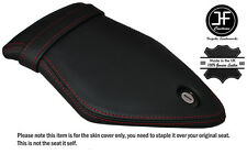 RED DOUBLE STITCH CUSTOM FITS BMW S 1000 RR 15-16 REAR LEATHER SEAT COVER