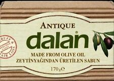 DALAN Olive Oil  Antique Natural Soap 5X170 gr Effective Dandruff-Hair Loss-Gift